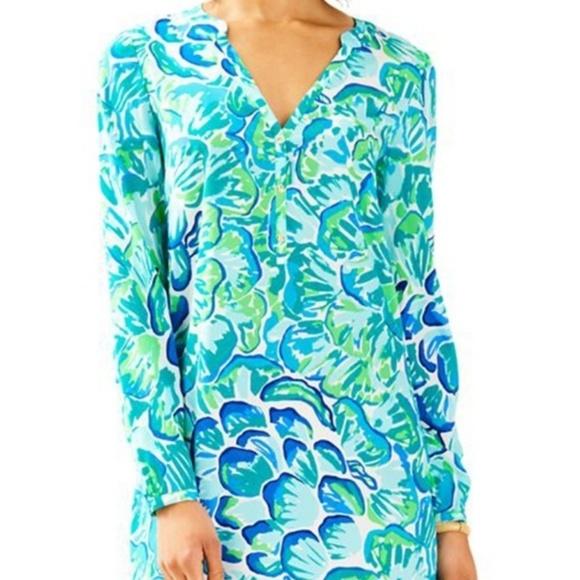 3987f6df5cae15 Lilly Pulitzer Dresses | Nwt Delphine Silk Stretch Dress | Poshmark